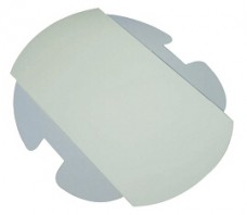 P & C LF 1 LIGHT SHIELD #8600