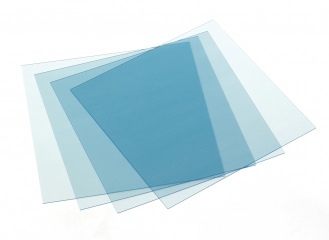 "Retainer Material Clear 5"" x 5"" sheets 50pk #9614816"