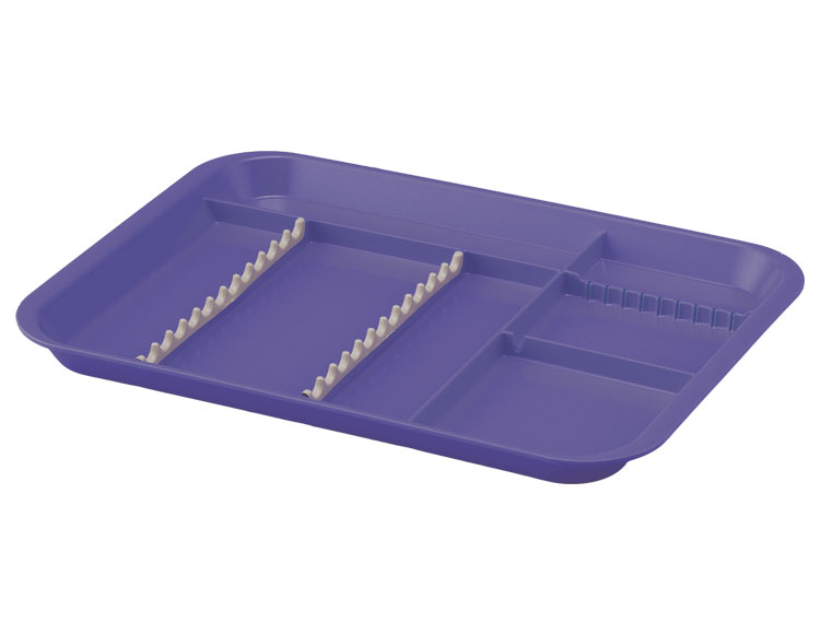"B LOK DIVIDED TRAY 13-3/8"" x 9-5/8"" x 7/8"" SIZE B 20Z451"