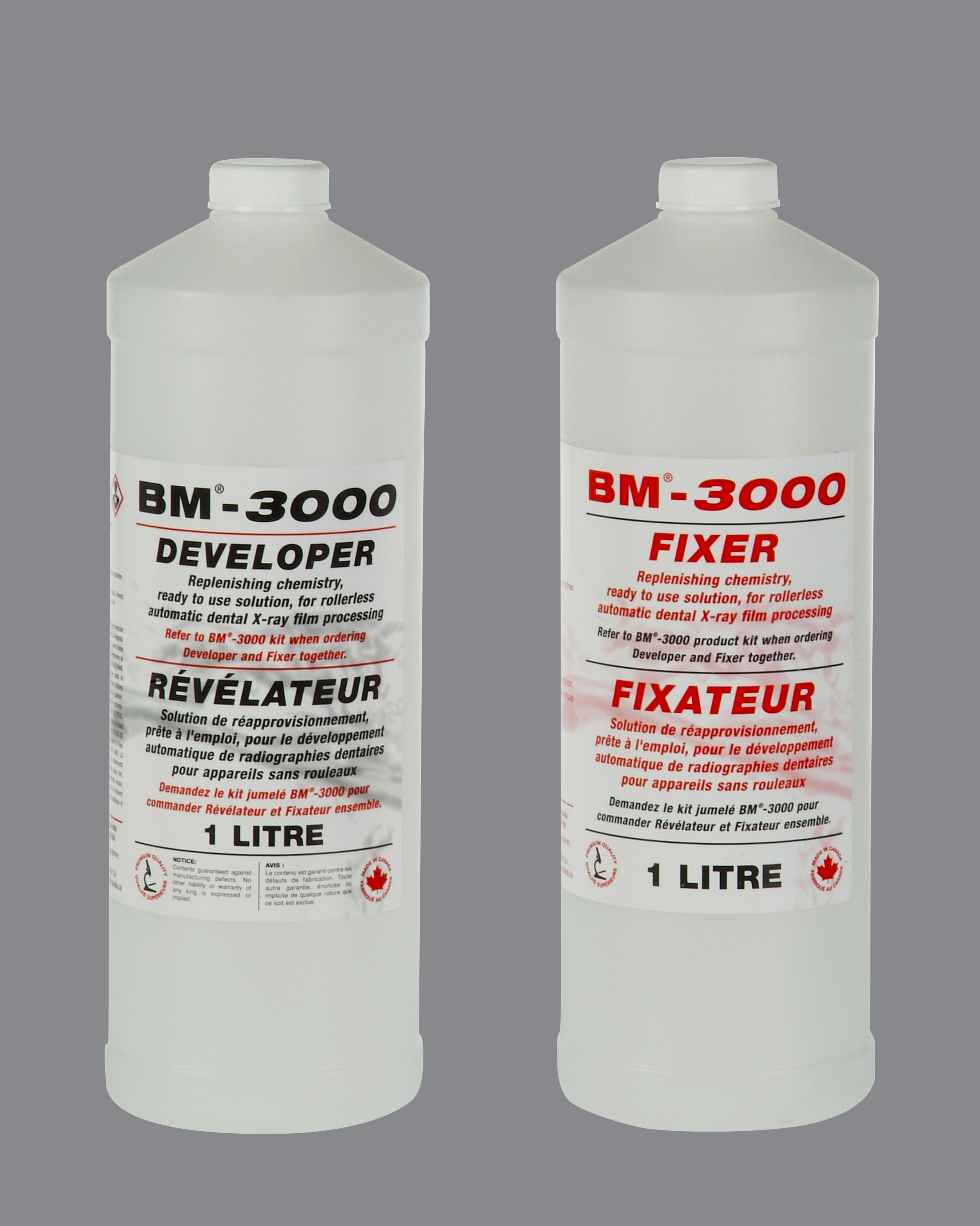 BM-3000 PRO 3X1L DEVELOPER & FIXER
