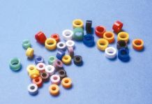"CODE RINGS -STANDARD SIZE 1/8"" 100pk PULPDENT"
