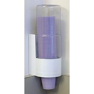 CROSSTEX ACRYLIC CUP DISPENSER