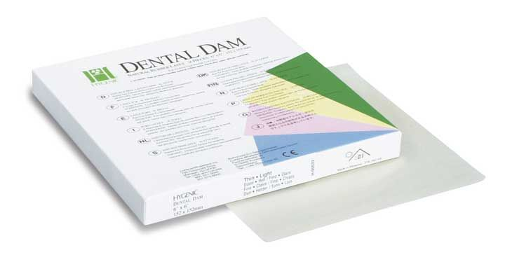 Hygenic® latex Dental Dam-Extra Heavy
