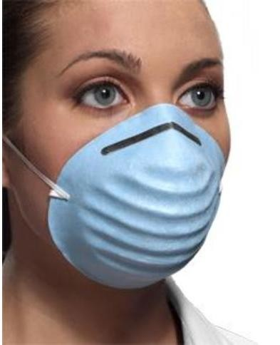 CROSSTEX SURGICAL MOLDED MASK