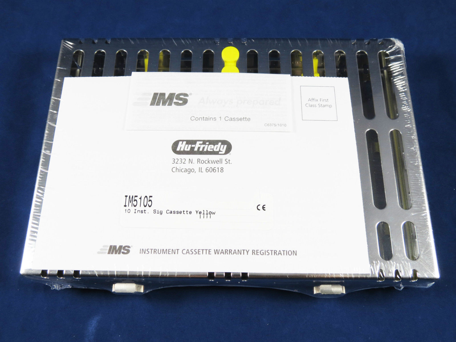 HF IMS CASSETTE 10 I NST. SIGN. IM5105