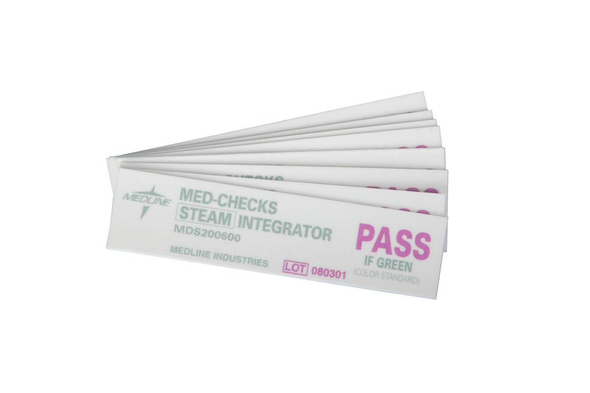 MED-CHECKS Class 5 Steam Integrator Strips 250pk