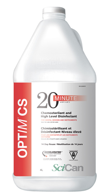 OPTIM CS CHEMOSTERILANT & DISINFECTANT 4L btl