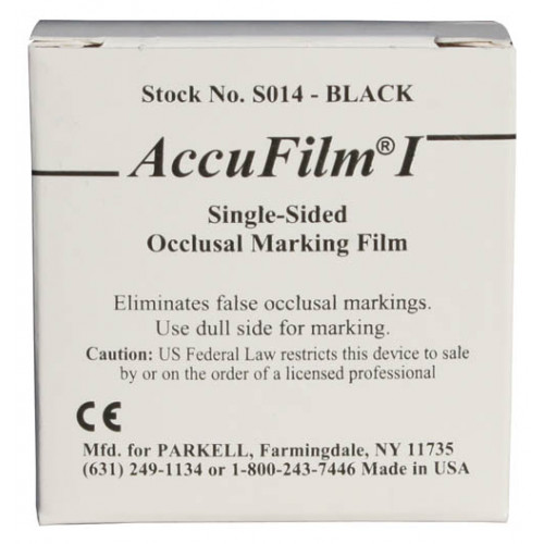 ACCUFILM I -SINGLE SIDED ARTICULATING FILM