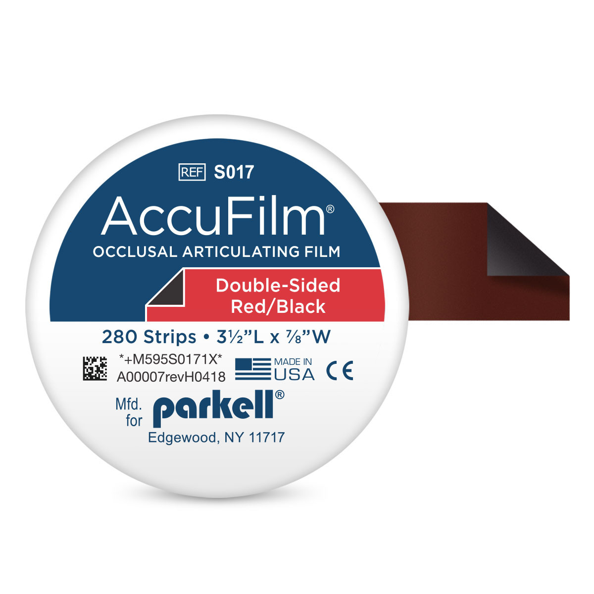 ACCUFILM II DOUBLE SIDED ARTICULATING FILM
