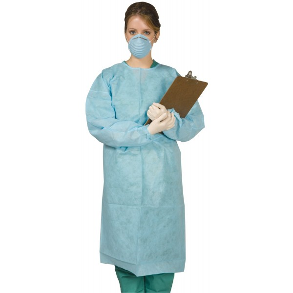 Disposable Tie-Back Protective Gown 10pk