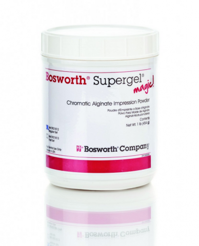 BOSWORTH SUPERGEL MAGIC Alginate 1lb can KEYSTONE
