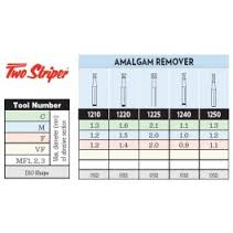 TWO STRIPER DIAMONDS AMALGAM REMOVERS 5pk