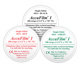 AccuFilm®I Single Sided Articulating Film PARKELL