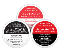 AccuFilm®II Double Sided Articulating Film Parkell