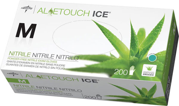 ALOETOUCH ICE NITRILE 100/bx