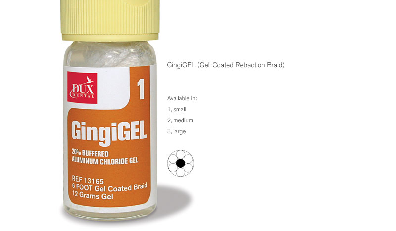 GingiGEL (Gel-Coated Retraction Braid)