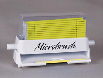 MICROBRUSH PLUS FINE 50PK & DISPENSER #MPD