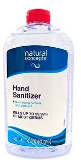 HAND SANITIZER - Case of 4 X 546ml Natural Concepts