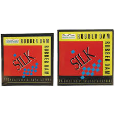 SILK RUBBER DAM 5X5 HEAVY 5X5DH