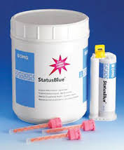 Status Blue Alginate Alternative Automix 8pk DMG